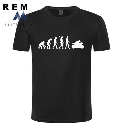 2018 Motorcycle Ape To Evolution T-Shirt 1 / Xs His & Her Tees