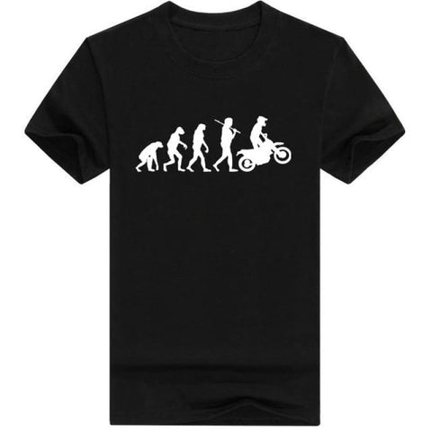 2019 High Quality T Shirts Men Motorcycle Ape To Evolution Shirt Summer Short Sleeve O-Neck Cotton