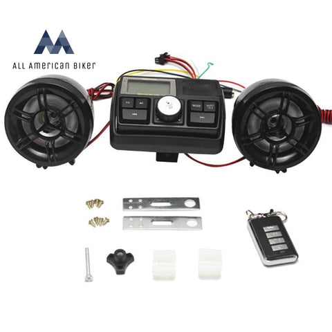 Anti-Theft Motorcycle Mp3 Fm Sound System Sound Systems & Music Accessories