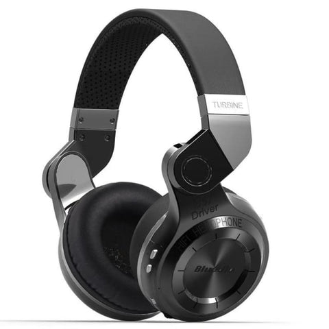 Bluetooth Foldable Headphones W-Built-In Mic & Eq Black / China Sound Systems Music Accessories