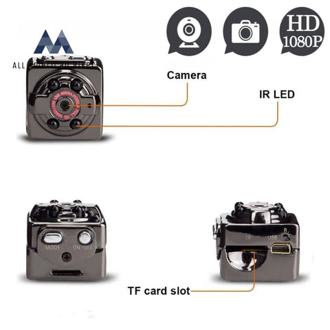 Full Hd 1080P Mini Camera Cam Camcorder With Night Vision And Voice Video Recorder Motorcycle