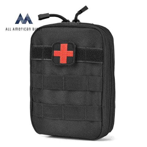 High-Quality Tactical Medical Pouch Black Pet & Outdoor Accessories