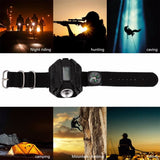 Led Rechargeable Wrist Watch Flashlight Pet & Outdoor Accessories