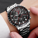 Men Sport Quartz Clock Luxury Full Steel Business Waterproof Watch Relogio Masculino Mens Watches