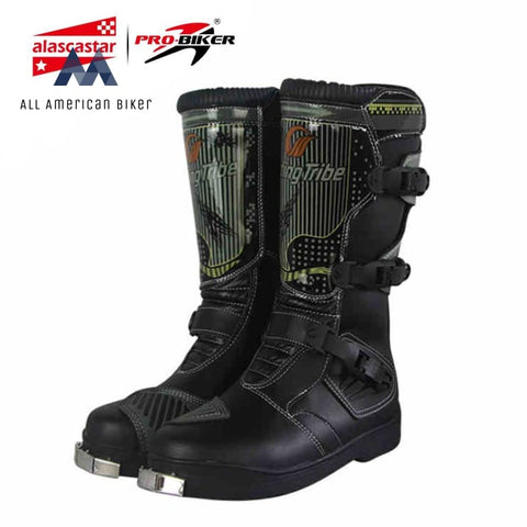 Mens Motorcycle Off-Road Waterproof Boots Boots & Shoe Armor