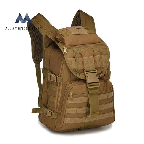 Military 40L Tactical Daypack Molle Assault Backpack Rucksack Tan Pet & Outdoor Accessories