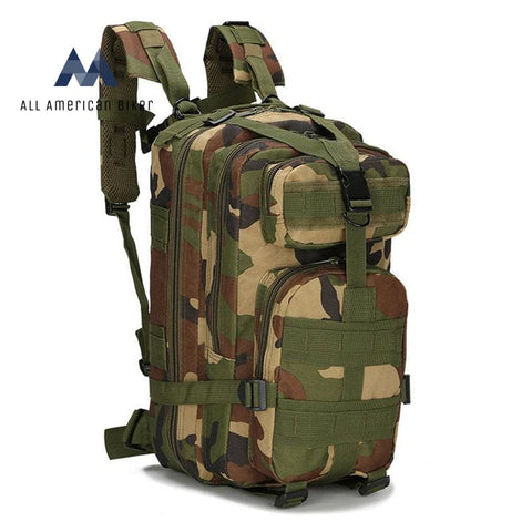 Military - Hiking Backpack Pet & Outdoor Accessories