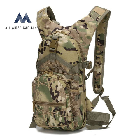 Military Tactical Camouflage Backpack Cp Pet & Outdoor Accessories
