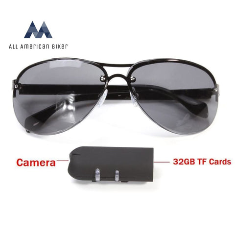 Mini Camera Sunglasses Hd 1080P Glasses Cam Outdoor Action Mens Eyewear & Wallets