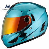 Nenki Helmets Nk-852 Full Face Motorcycle Dot Approved With Dual Visors