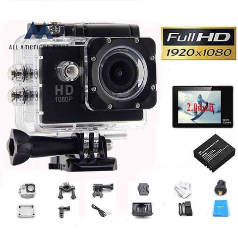 Sj 1080P Hd Mini Sport Helmet Action Camera Waterproof Screen Water Resistant