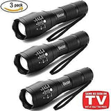 Tactical Flashlight [2 Pack] Ibester 1600 Lumens Cree  Xml-T6 Led Taclight As Seen On Tv Portable