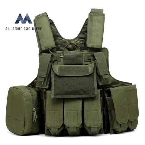 Tactical Hunting Vest Armygreen / One Size Pet & Outdoor Accessories