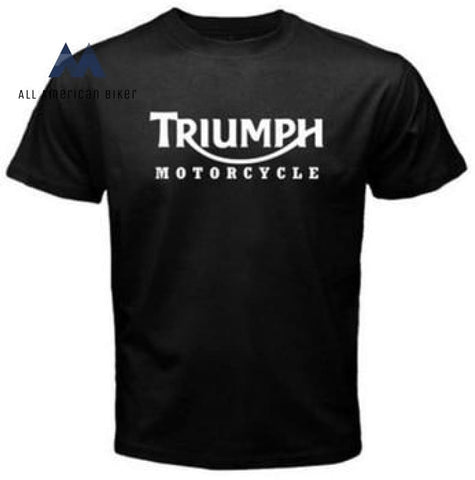 Triumph Motorcycle Classic Logo T-Shirt His & Her Tees