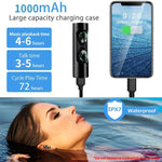 Wireless Earphone Deep Bass Waterproof Earbuds Sound Systems & Music Accessories