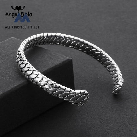 Womens Motorcycle Silver Plated Cuff Womans Rings