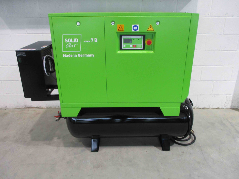Compressor-Boge Solidair S7RMD rotary screw with Dryer.
