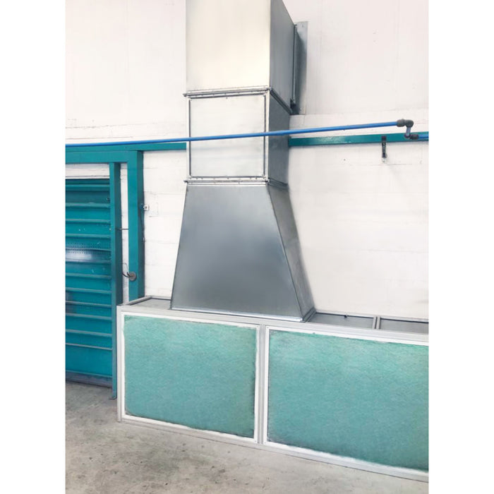 spraybooth extraction system