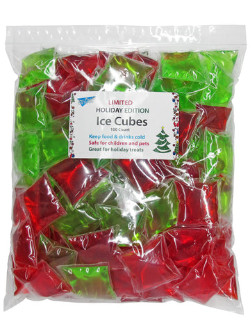 Picture of Holiday Edition Ice Cubes 100 Count