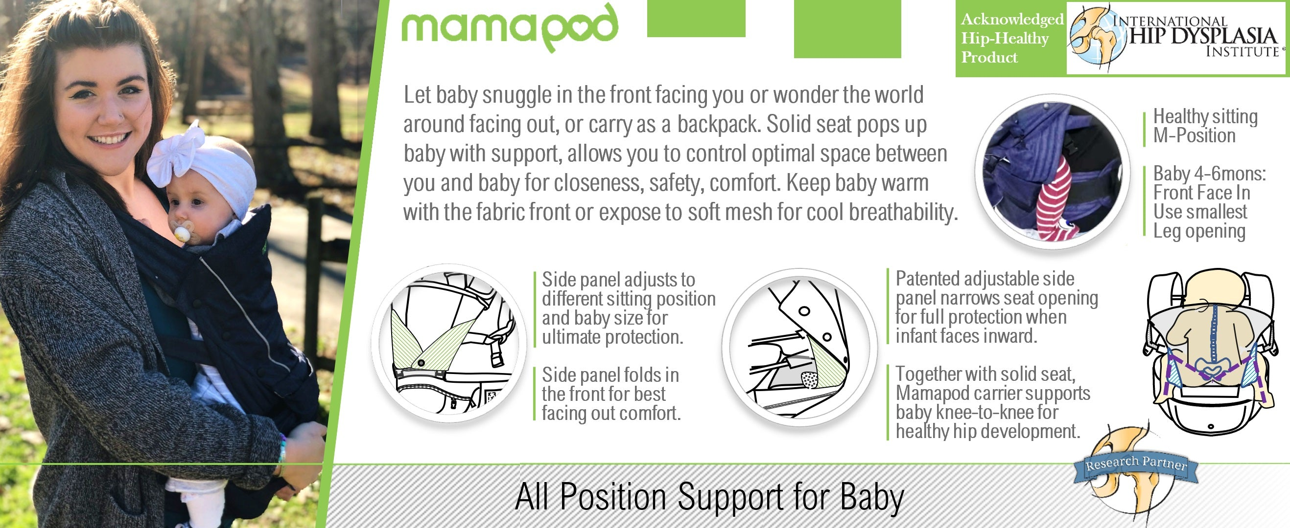 All Position Support For Baby