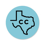 Corpus Christi State Decal/Sticker