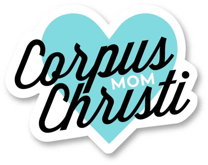 Corpus Christi Mom Heart Decal