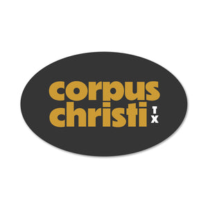 Corpus Christi Retro Decal/Sticker