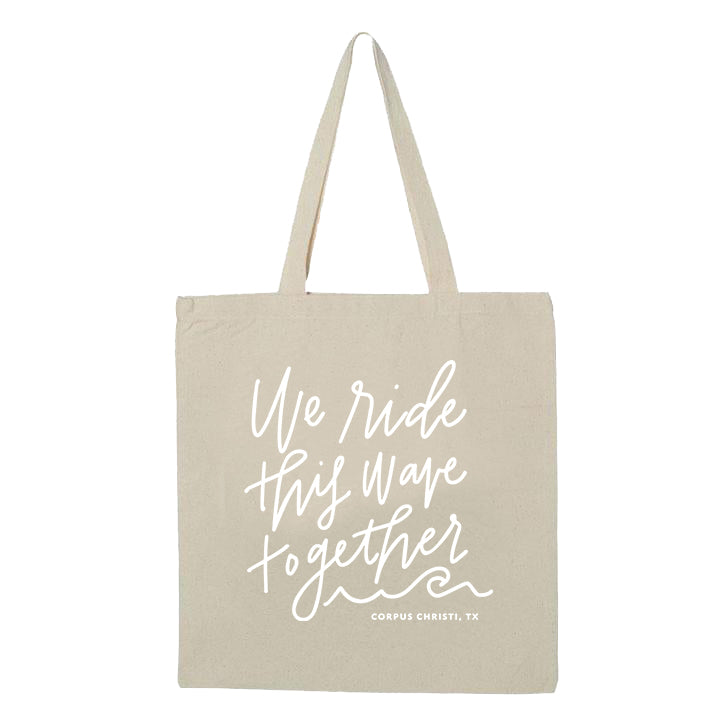 Ride This Wave Tote Bag