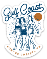Gulf Coast Girls Magnet