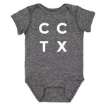 Infant Onesie - CCTX Stacked