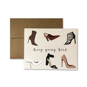 Keep Going Note Cards
