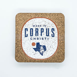 Made in CC Badge Coaster Set