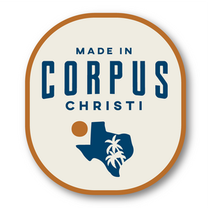Made in Corpus Christi Badge Decal