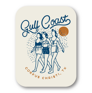 Gulf Coast Girls Decal/Sticker