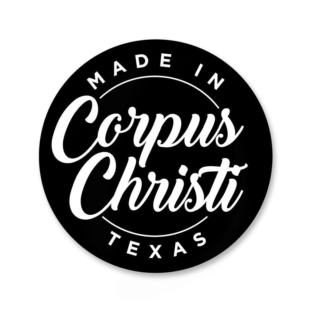 Made in Corpus Christi Stickers