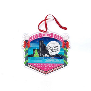 Pepperment Lane Commemorative Ornament