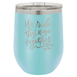 Insulated Wine Tumbler - Ride This Wave PREORDER