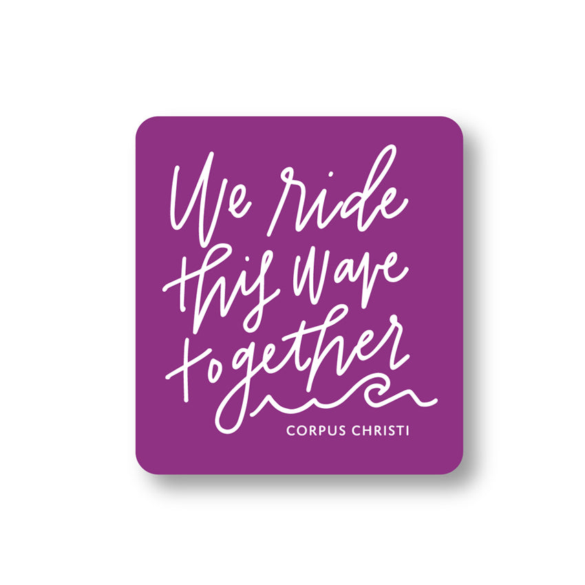 Ride This Wave Decal