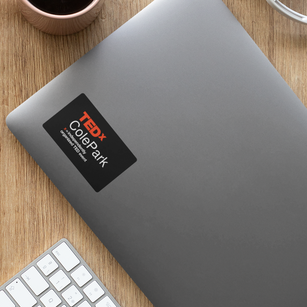 TEDxColePark Decal