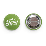 Texas Proud Button