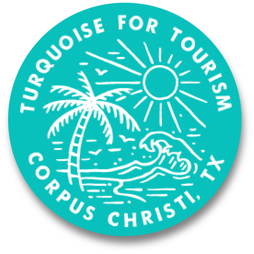 Turquoise for Tourism -Commemorative Decal