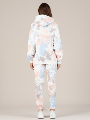 TALLY CLOUD TIE DYE FRENCH TERRY JOGGER PANT