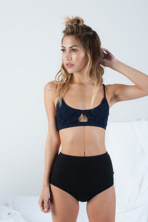Misha Bralette in Navy