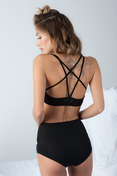 Misha Bralette in Black