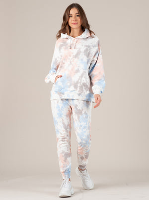 TALLY CLOUD TIE DYE FRENCH TERRY HOODIE