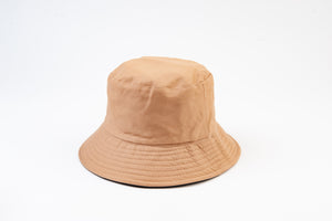 KHAKI REVERSIBLE BUCKET HAT