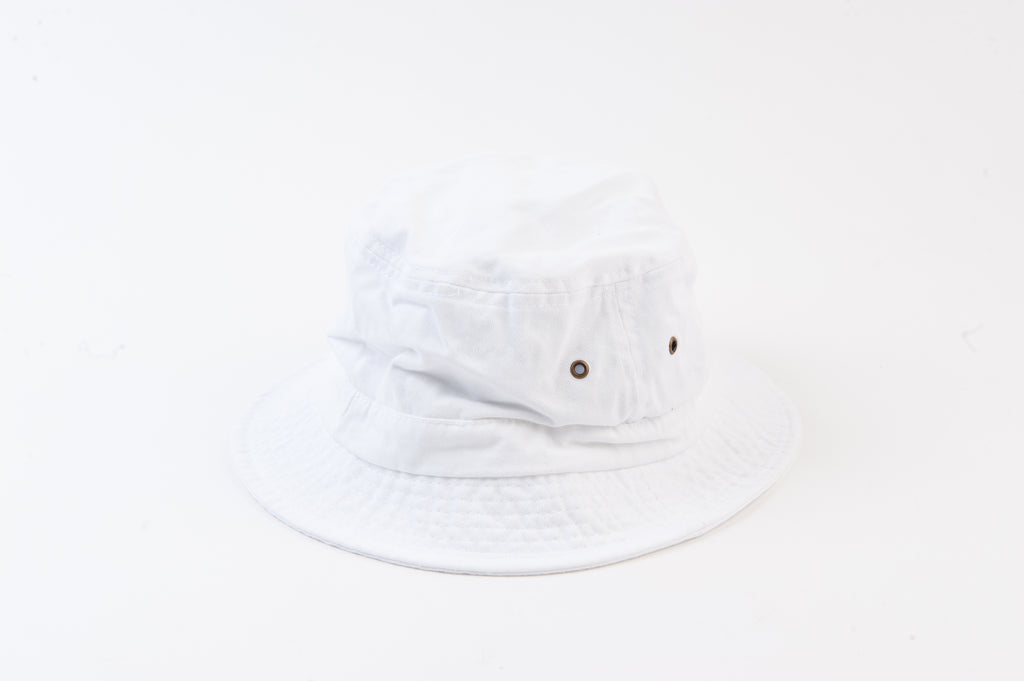 BECK BUCKET HAT | WHITE