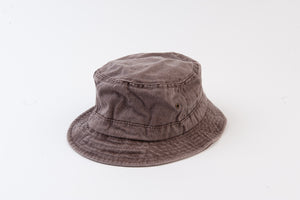 BECK BUCKET HAT | MOCHA WASH