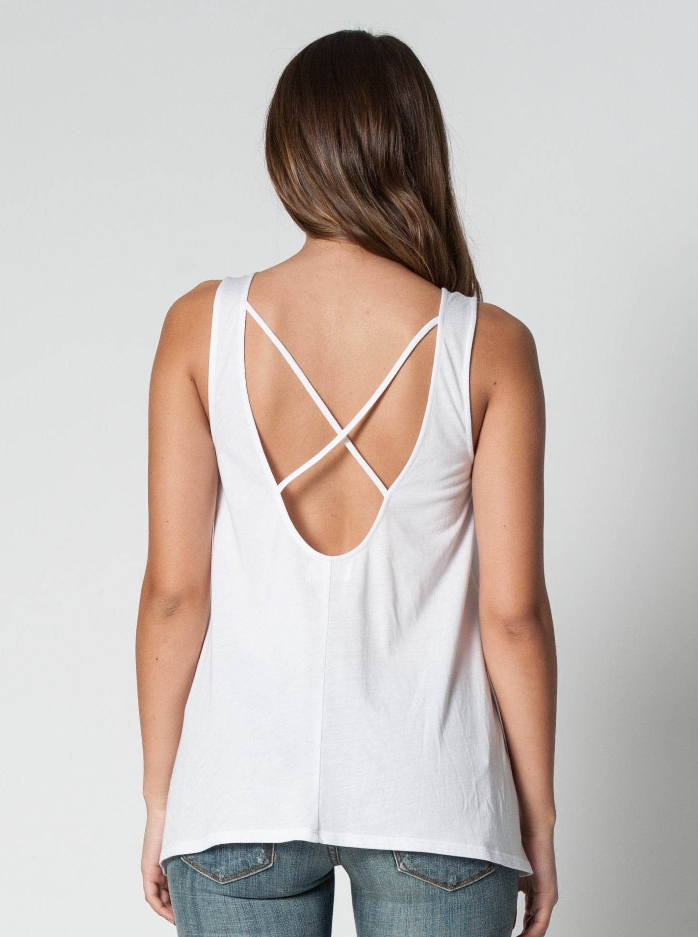 BETH CROSS BACK SWING TANK