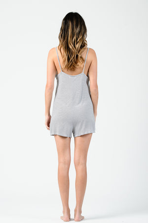 Jane V-Neck Cami Romper